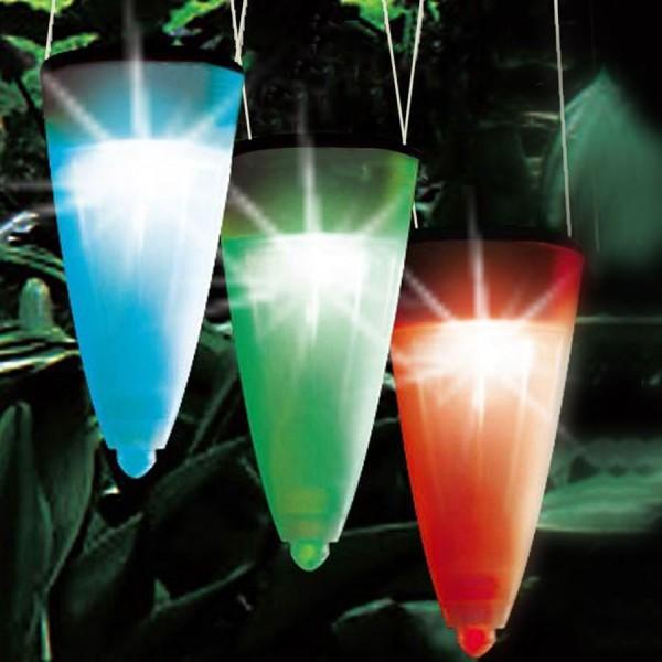 3 led solarleuchten gartenleuchte solarlampe stableuchte h ngelampe farbwechsler ebay. Black Bedroom Furniture Sets. Home Design Ideas