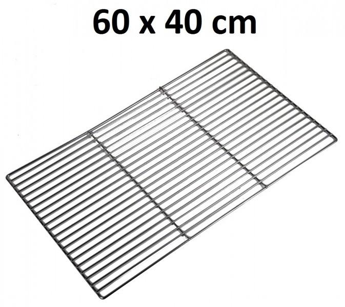 grillrost eckig 60x40cm grillgitter standgrill verchromt ersatz holzkohlegrill ebay. Black Bedroom Furniture Sets. Home Design Ideas