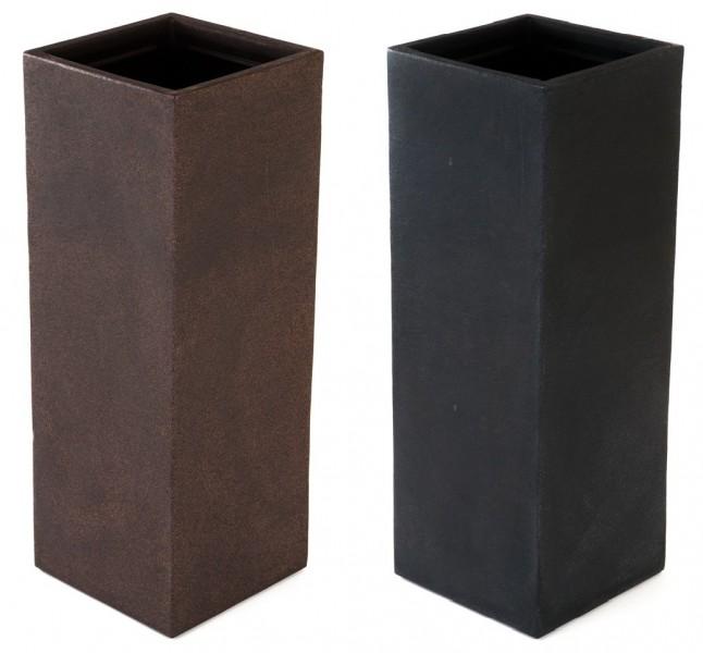 kubus s ulenpflanztopf 80 cm pflanzkasten blumentopf pflanzk bel pflanztrog neu ebay. Black Bedroom Furniture Sets. Home Design Ideas