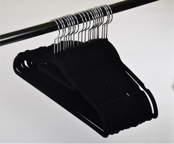 100er set rutschfeste kleiderb gel samt bezug beflockt. Black Bedroom Furniture Sets. Home Design Ideas