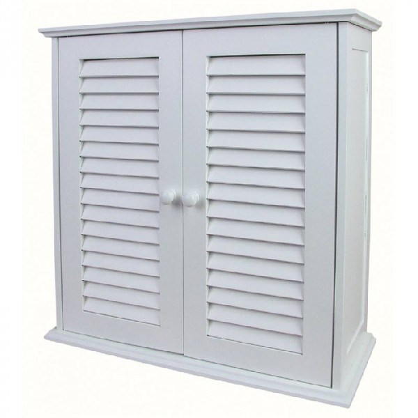 salle de bain suspendre armoire bois meuble depose pour salle de bain blanc ebay. Black Bedroom Furniture Sets. Home Design Ideas