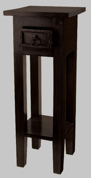 beistelltisch mahagoni antikdesign tisch nachttisch kolonialstil schublade regal ebay. Black Bedroom Furniture Sets. Home Design Ideas