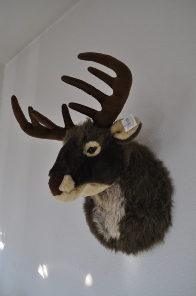 Peluche cabeza de ciervo trofeo de felpa venado trofeo uk for Cabeza de ciervo