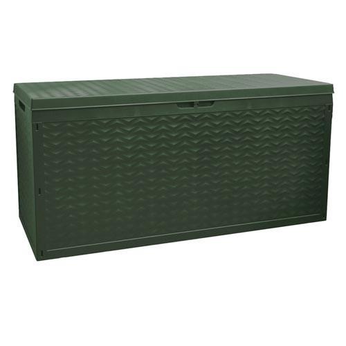 gartenkissenbox cargo gr n 120x45x60cm gartenbox box gartenkiste gartentruhe ebay. Black Bedroom Furniture Sets. Home Design Ideas