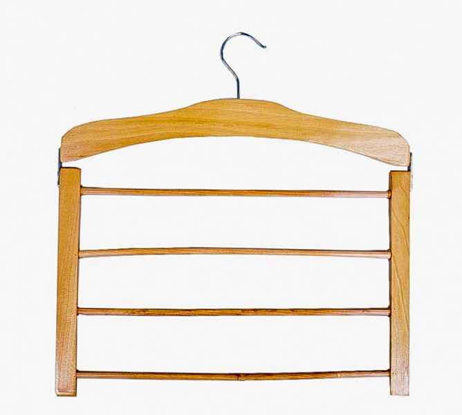 holz hosenb gel f r 4 hosen b gel kleiderb gel raumsparb gel rutschfest neu ebay. Black Bedroom Furniture Sets. Home Design Ideas