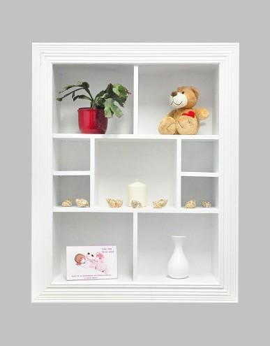 setzkasten deluxe wei wandregal cd regal b cherregal h ngeregal regal neu ebay. Black Bedroom Furniture Sets. Home Design Ideas