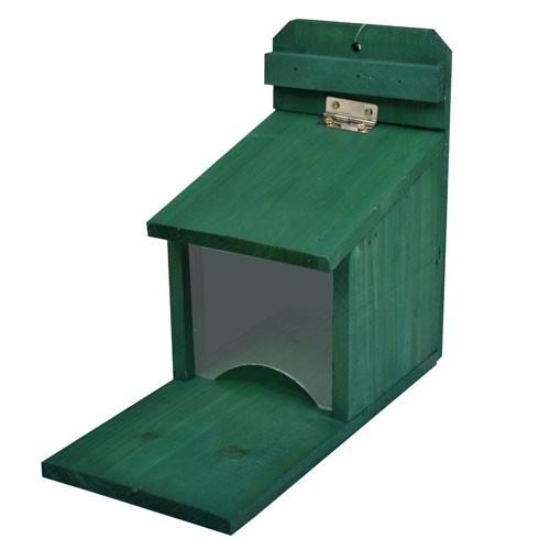 eichh rnchen futterhaus futterstation vogelhaus futterspender futterautomat ebay. Black Bedroom Furniture Sets. Home Design Ideas