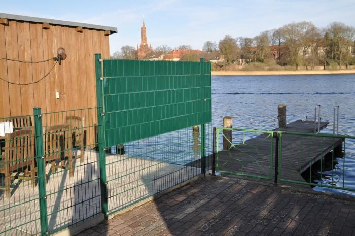 Pvc Sichtschutz Blickdicht Windschutz Balkon Terrasse Bambus 1 6m X ...