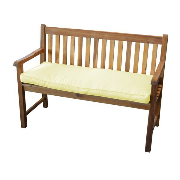 auflage f r gartenbank akazie diverse farben polsterauflage auflage sitzauflage ebay. Black Bedroom Furniture Sets. Home Design Ideas