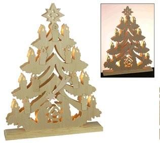lichterpyramide aus holz sternschnuppe pyramide weihnachtsdeko weihnachtslicht ebay. Black Bedroom Furniture Sets. Home Design Ideas