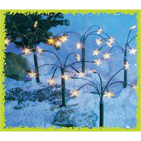 leuchtstern weihnachten deko sternbeleuchtung sternleuchtstab weihnachtsstern. Black Bedroom Furniture Sets. Home Design Ideas