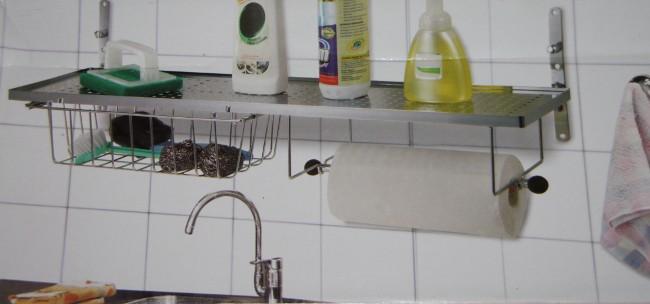 sp lbeckenregal regal waschbecken k chenregal k che 44c ebay. Black Bedroom Furniture Sets. Home Design Ideas