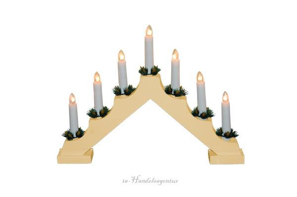 schwedenleuchter lichterbogen pyramide deko weihnachten. Black Bedroom Furniture Sets. Home Design Ideas