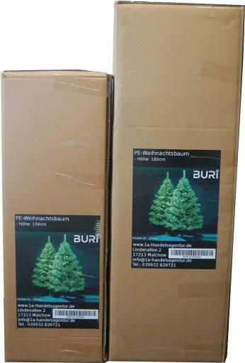 150 cm k nstliche tanne kunst pe tannenbaum weihnachtsbaum. Black Bedroom Furniture Sets. Home Design Ideas
