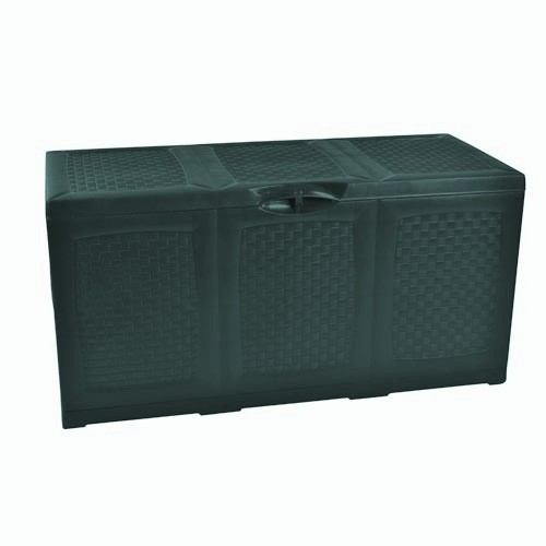 kissenbox auflagenbox gartenbox 380 l kissentruhe f r auflagen truhe gartentruhe ebay. Black Bedroom Furniture Sets. Home Design Ideas