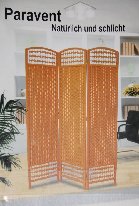 spanische wand weidegeflecht orange paravent deko. Black Bedroom Furniture Sets. Home Design Ideas