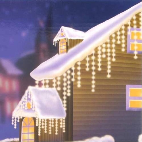 135er lichtervorhang weihnachten au enbeleuchtung for Lichtervorhang weihnachten