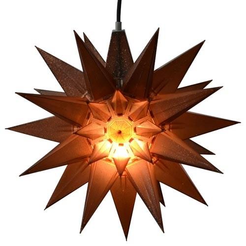 weihnachtsstern glitter stern mit beleuchtung in 3 farben. Black Bedroom Furniture Sets. Home Design Ideas