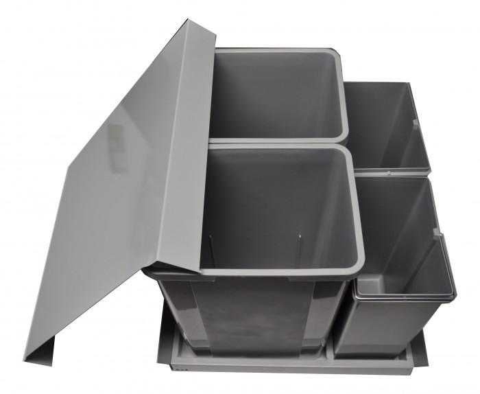 Wesco-Einbau-Abfallsammler-Pullboy-Z-Einbauabfallsammler-Abfall-Muelltonne-Neu
