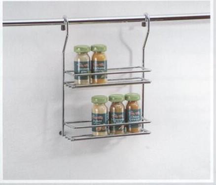 ... Reling System Küchenreling Leiste Regal Küche Wand für Rohr