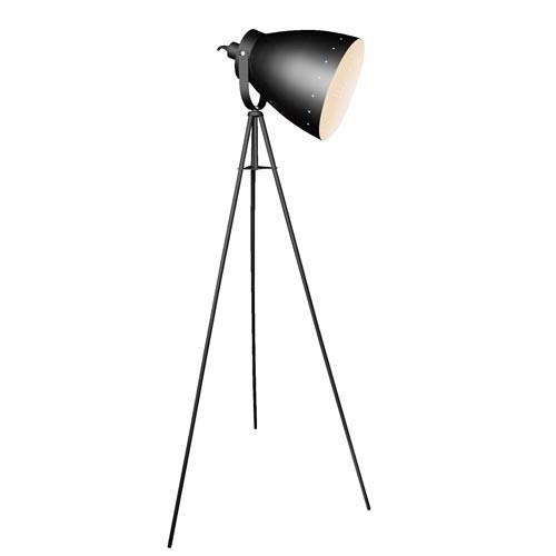standleuchte schwarz silber stehlampe stehleuchte stativ scheinwerfer neu lampe ebay. Black Bedroom Furniture Sets. Home Design Ideas