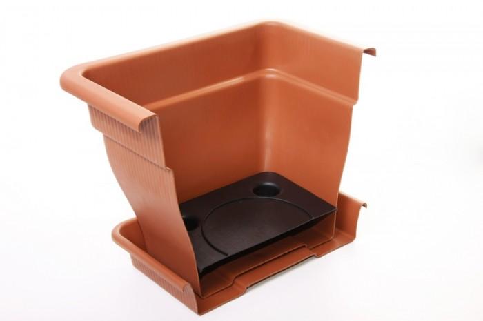 blumenk bel pflanzgef mit wasserspeicher 18 33 70 liter pflanztopf blumentopf ebay. Black Bedroom Furniture Sets. Home Design Ideas