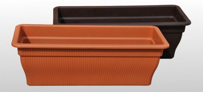 balkonkasten mit wasserspeicher 12 18 25 liter div farben blumenkasten balkon ebay. Black Bedroom Furniture Sets. Home Design Ideas