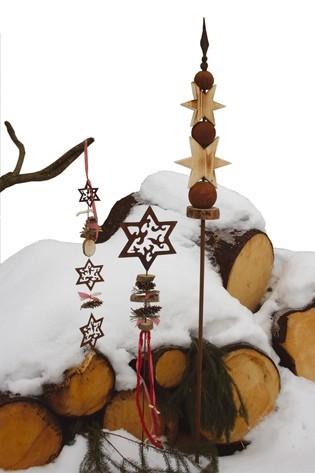 Dekostab stern 150cm gartendeko blumenbeetdeko garten for Dekostab garten