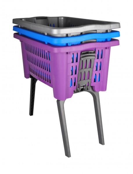 Wäschekorb mit Beinen ausklappbar Wäschesammler Wäschetruhe Wäschebox Korb Truhe eBay ~ 01012028_Bauhaus Wäschekorb Mit Beinen