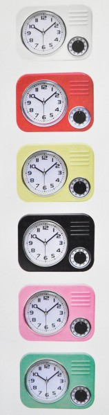 retro k chenuhr versch farben uhr wanduhr eieruhr wecker schaltuhr timer neu ebay. Black Bedroom Furniture Sets. Home Design Ideas