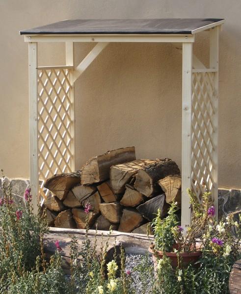 kaminholzregal brennholzregal holz regal holzablage kamin holzregal unterstand ebay. Black Bedroom Furniture Sets. Home Design Ideas