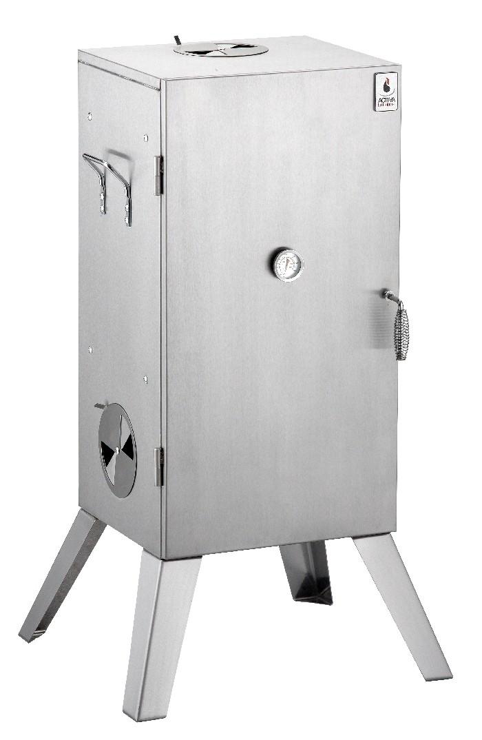 activa edelstahl r ucherofen r uchern ofen grillen grill. Black Bedroom Furniture Sets. Home Design Ideas