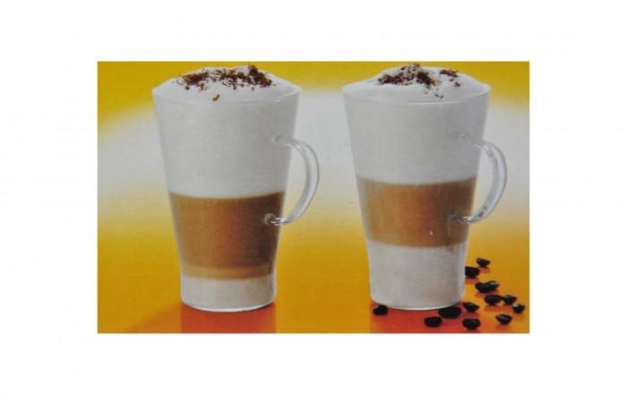 termisil 2er set 0 4 l glas latte macchiato teeglas mit henkel gl hweinglas tee ebay. Black Bedroom Furniture Sets. Home Design Ideas