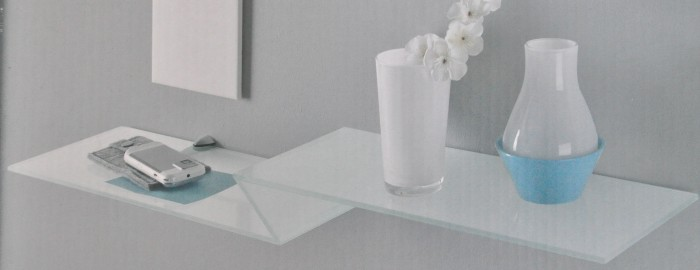 Wandregal design glas  Kerkhoff Glasregalboden versch. Design Glasregal Regal Wandregal ...
