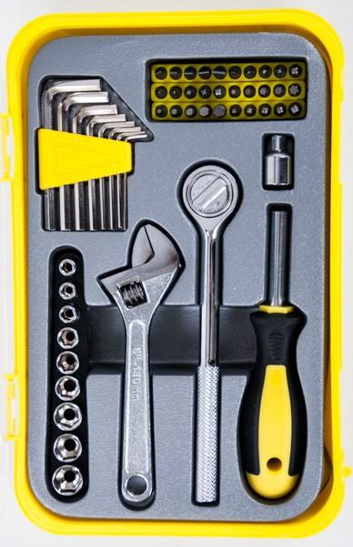 werkzeug set schraubendreher bits zangen heimwerker bohrer schl ssel hammer neu ebay. Black Bedroom Furniture Sets. Home Design Ideas