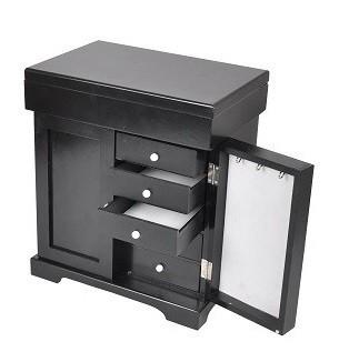 b ware schmuckschrank schmuckkiste aufbewahrungsbox schmuckbox box schmuckkasten ebay. Black Bedroom Furniture Sets. Home Design Ideas