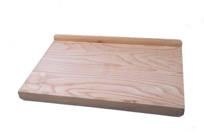 Küchenbrett Holz Rund ~ kesper holz backbrett ca 59x39cm schneidebrett