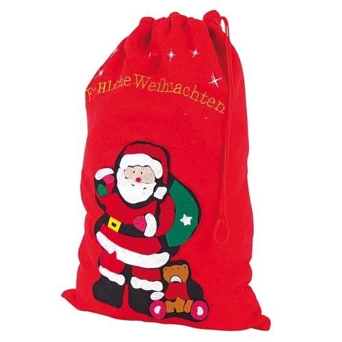 geschenke sack weihnachtsmannsack nikolaussack. Black Bedroom Furniture Sets. Home Design Ideas
