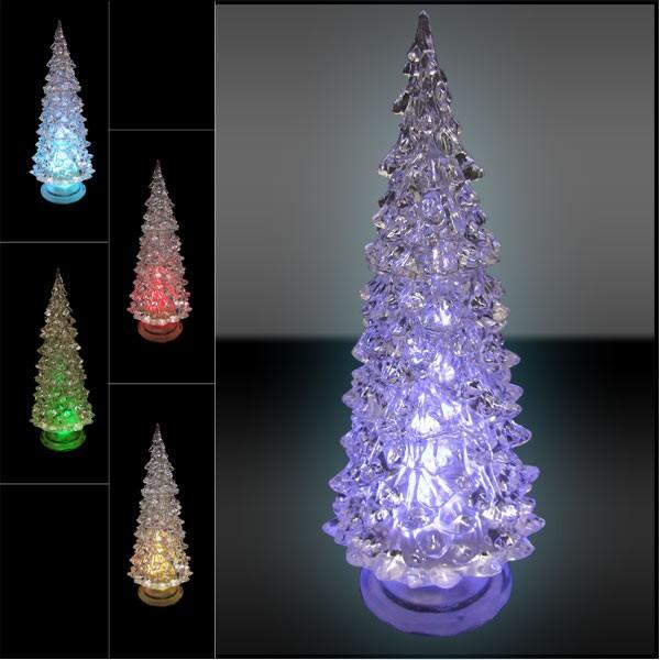 Led dekotanne mit farbwechsel weihnachtsdeko leuchttanne weihnachten fensterdeko ebay - Led fensterdeko weihnachten ...