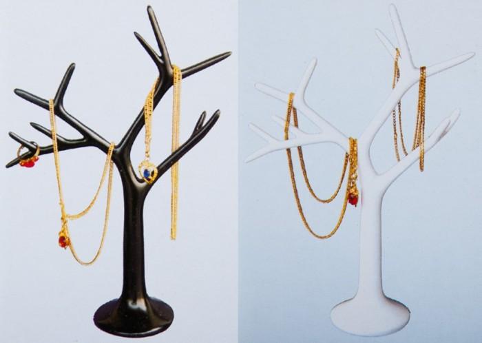 schmuckst nder baum verschiedene farben schmuckbaum. Black Bedroom Furniture Sets. Home Design Ideas