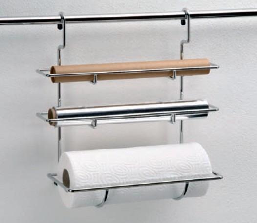 wesco relingsystem rollenhalter 3 fach edelstahl. Black Bedroom Furniture Sets. Home Design Ideas