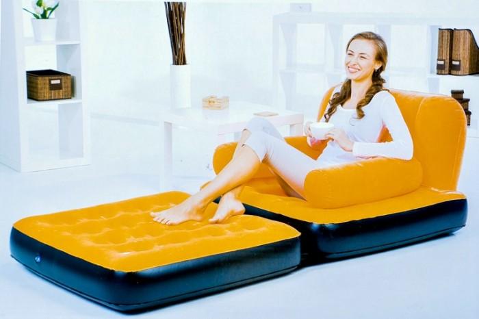 g stebett sessel luftbett campingbett sofa aufblasbares. Black Bedroom Furniture Sets. Home Design Ideas