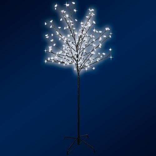 led solar leuchtbaum tannenbaum lichterbaum solarlicht. Black Bedroom Furniture Sets. Home Design Ideas