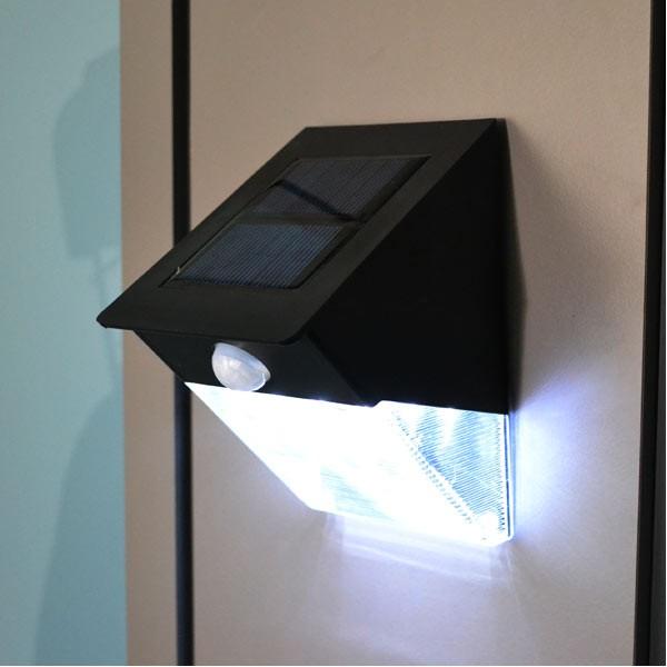 solar led bewegungsmelder au enbeleuchtung. Black Bedroom Furniture Sets. Home Design Ideas