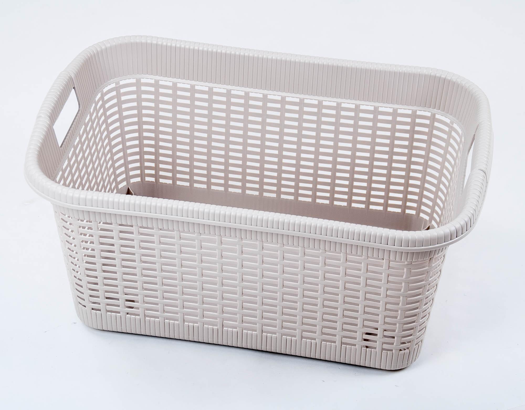 Gartenmobel Gunstig Nrw : Wäschekorb Rattan Optik ca 40 L Wäschekorb Wäschewanne Kunststoff