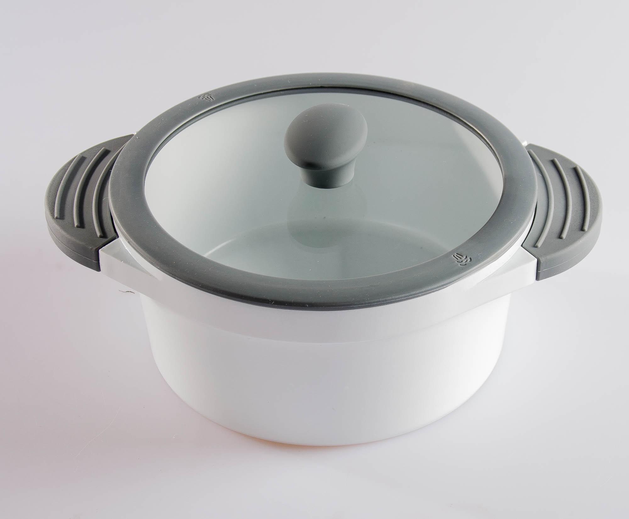 aluguss kochtopf ceramica 28 cm induktion kochtopf fleischtopf suppentopf topf ebay. Black Bedroom Furniture Sets. Home Design Ideas