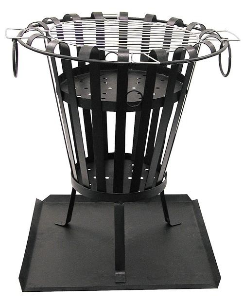 feuerkorb mega grill gartengrill feuer machen im korb. Black Bedroom Furniture Sets. Home Design Ideas