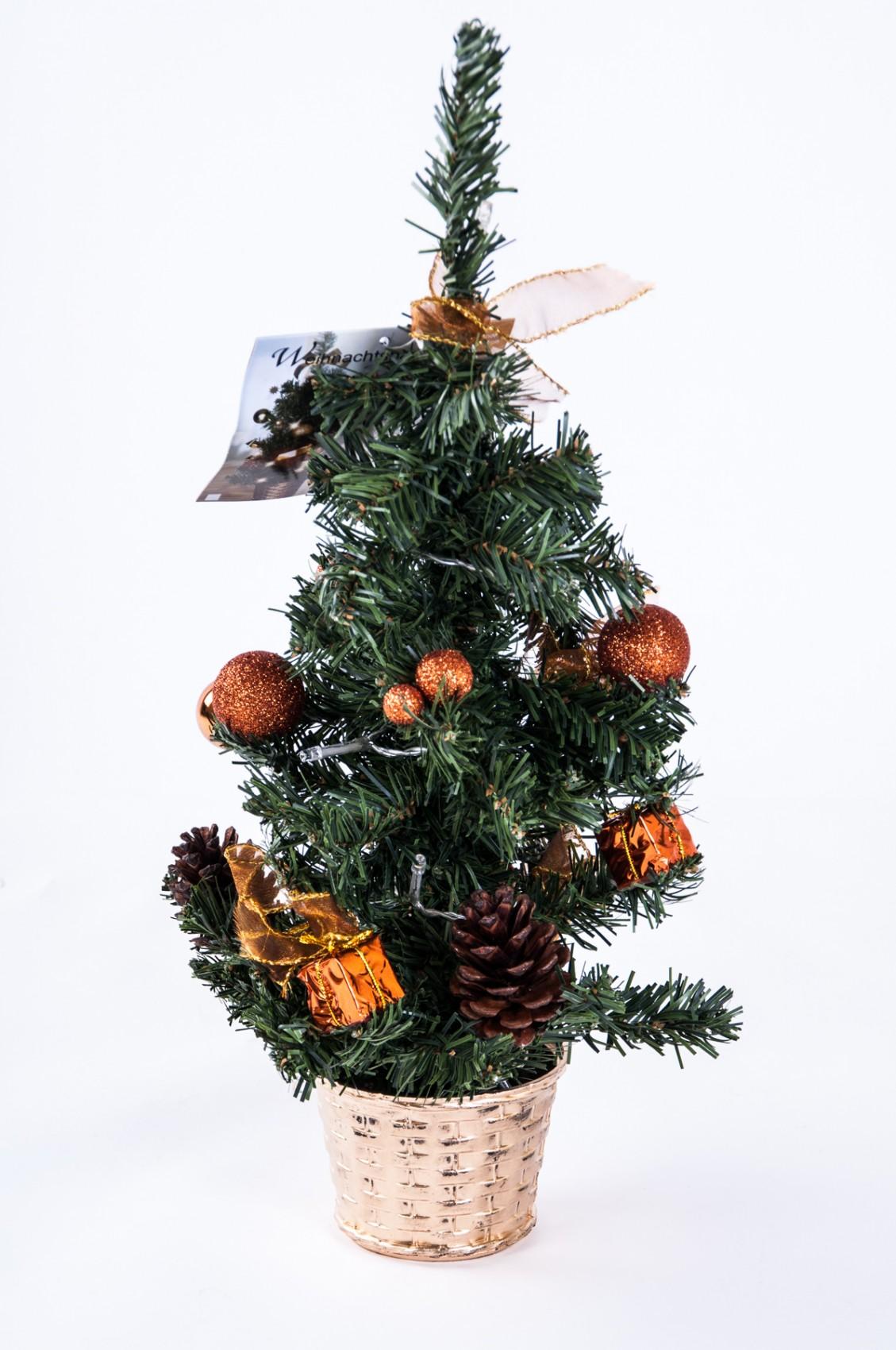 led deko weihnachtsbaum h 45cm weihnachten tannenbaum. Black Bedroom Furniture Sets. Home Design Ideas