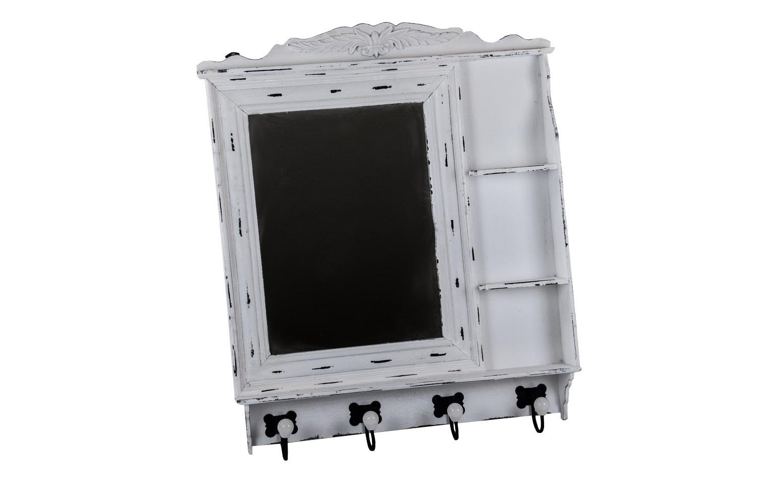 vintage garderobe spiegel hakenleiste flurgarderobe kleiderhaken wandgarderobe ebay. Black Bedroom Furniture Sets. Home Design Ideas