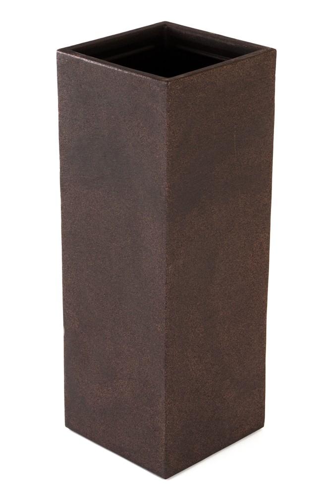 kubus s ulenpflanztopf 80 cm pflanzkasten blumentopf pflanzk bel pflanztrog neu. Black Bedroom Furniture Sets. Home Design Ideas